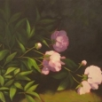 Peonies Diptych, Right