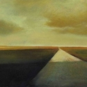Road with Yellow Sky